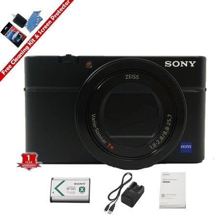 Sony Cyber-shot DSC-RX100 IV 20.1 MP Digital Still Camera (International Model) No Warranty