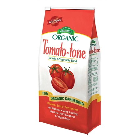 Tomato-tone Organic Fertilizer - FOR ALL YOUR TOMATOES, 4 lb. bag, An all natural and organic plant food enhanced with thousands of living microbes and is approved for.., By