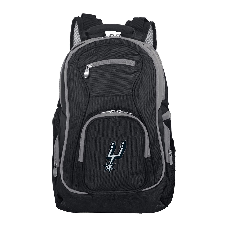 NBA San Antonio Spurs Premium Laptop Backpack with Colored Trim