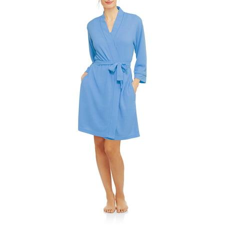 Secret Treasures Women's and Women's Plus Waffle Knit Sleepwear Robe