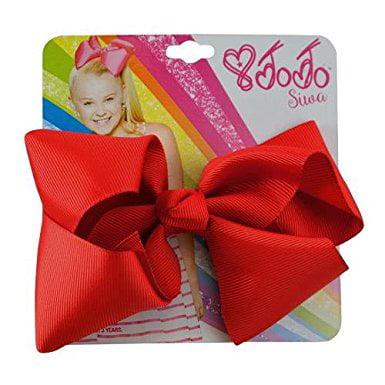 JoJo Siwa Hair Bow Red - Halloween Hair Bows Diy