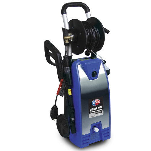 All Power America 2000 PSI Electric Pressure Washer with Stainless Steel Panel