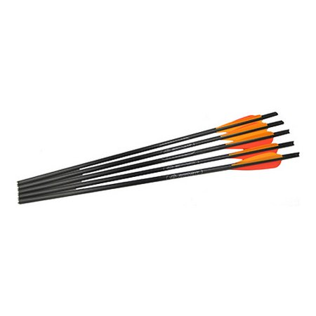 Barnett HeadHunter Outdoors Carbon Crossbow 20-Inch Arrows with Field Points (5 Pack)