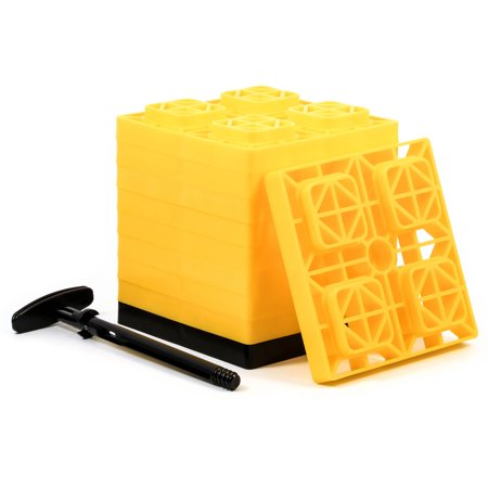 Cacmo 44514 Fasten Leveling Blocks With T Handle  2 X 2