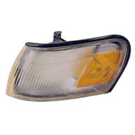 Compatible 1993 - 1997 Toyota Corolla Corner Light Assembly / Lens Cover -  Right (Passenger) 81610-12600 TO2551106 Replacement For Toyota Corolla