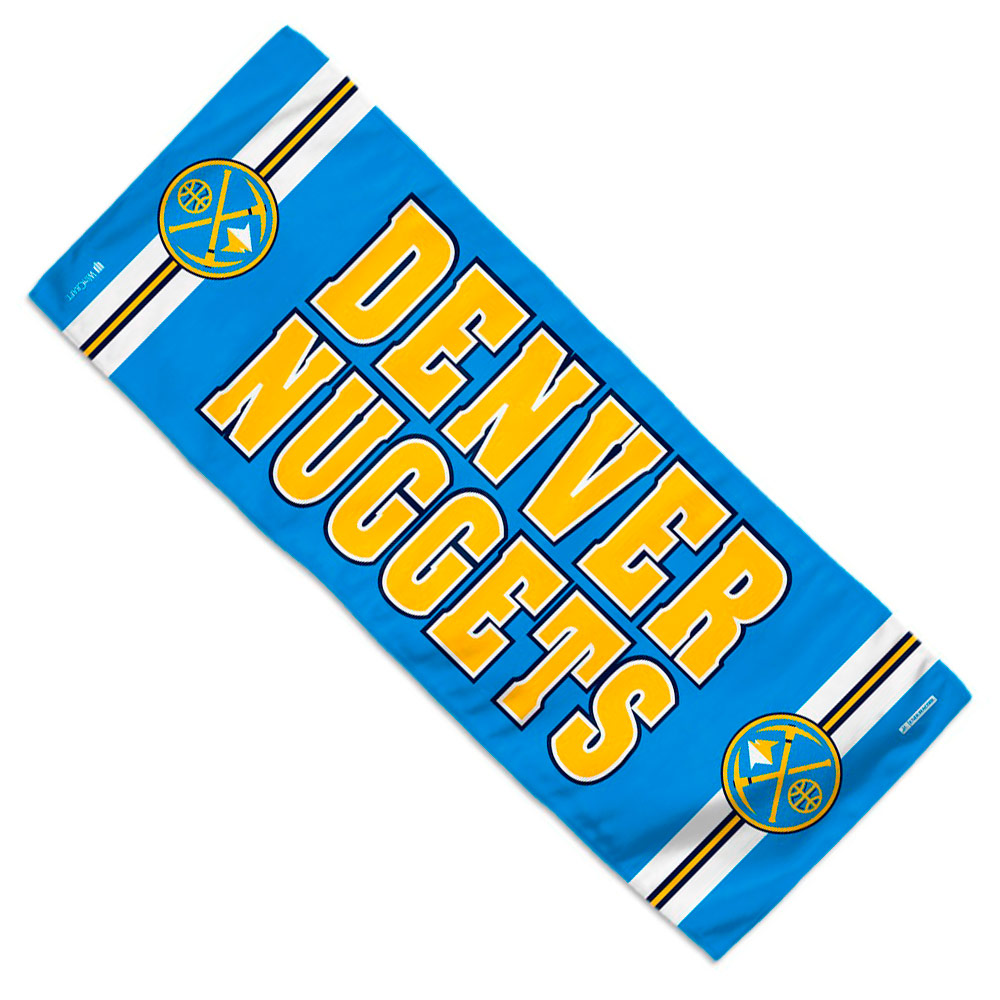 """Denver Nuggets WinCraft 12"""" x 30"""" Cooling Towel - No Size"""