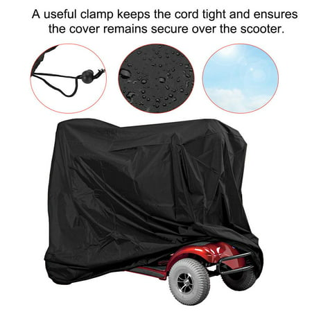 Card Mobility (Sonew Elderly Scooter W aterproof Car Cover, Eldly Mobility Scooter Storage Cover Wheelchair Waterproof Rain Protection , Wheelchair Rain Protection)