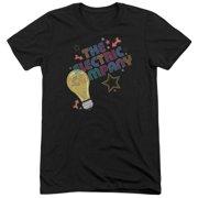 Electric Company Electric Light Mens Tri-Blend Short Sleeve Shirt