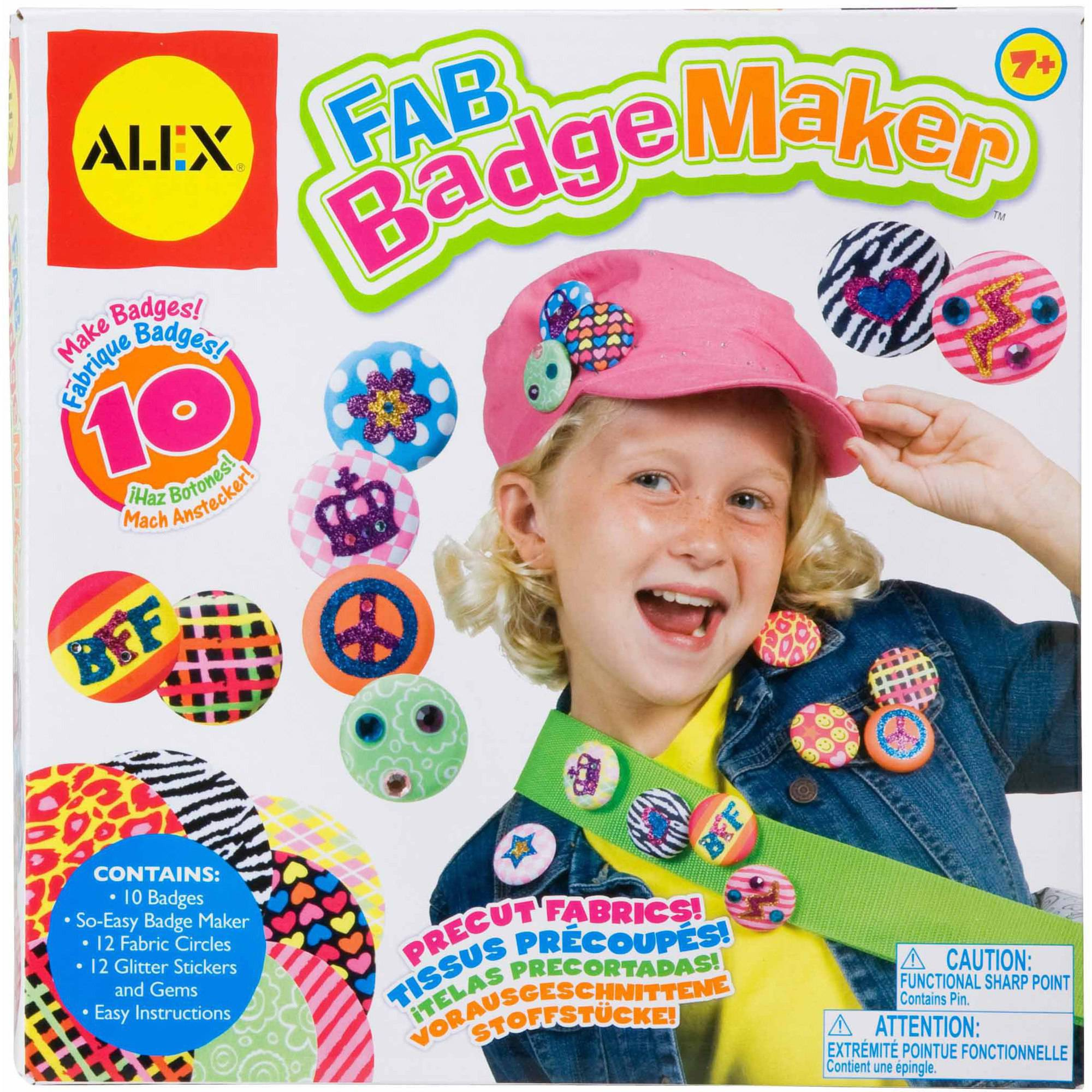 Alex Toys Fab Badge Maker Kit by Overstock