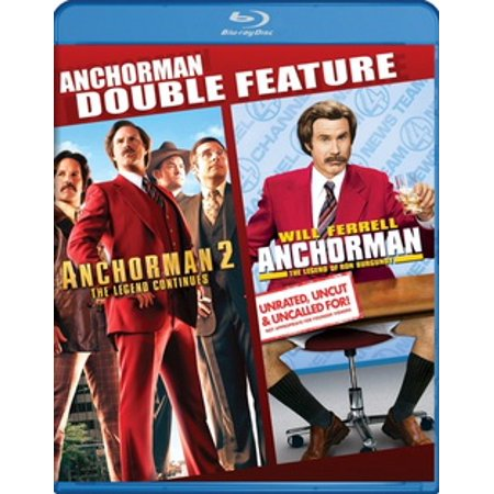 Anchorman / Anchorman 2 (Blu-ray) (Anchorman Scotch)