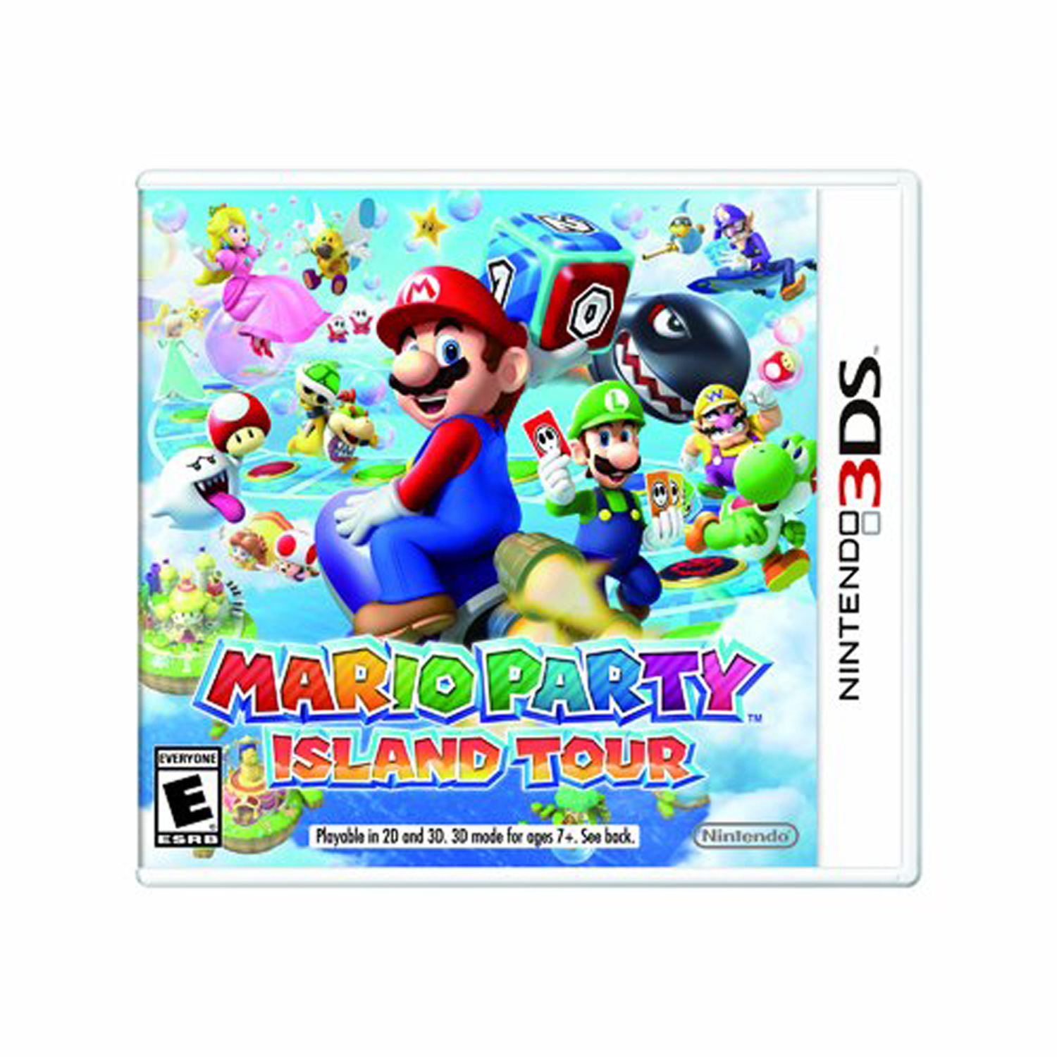 Mario Party: Island Tour, Nintendo, Nintendo 3DS, [Digital Download], 0004549668027