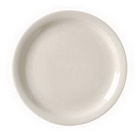 - Vertex China RNR-6 Royal Narrow Rim Plate American White 6.5 1-3 Dozen
