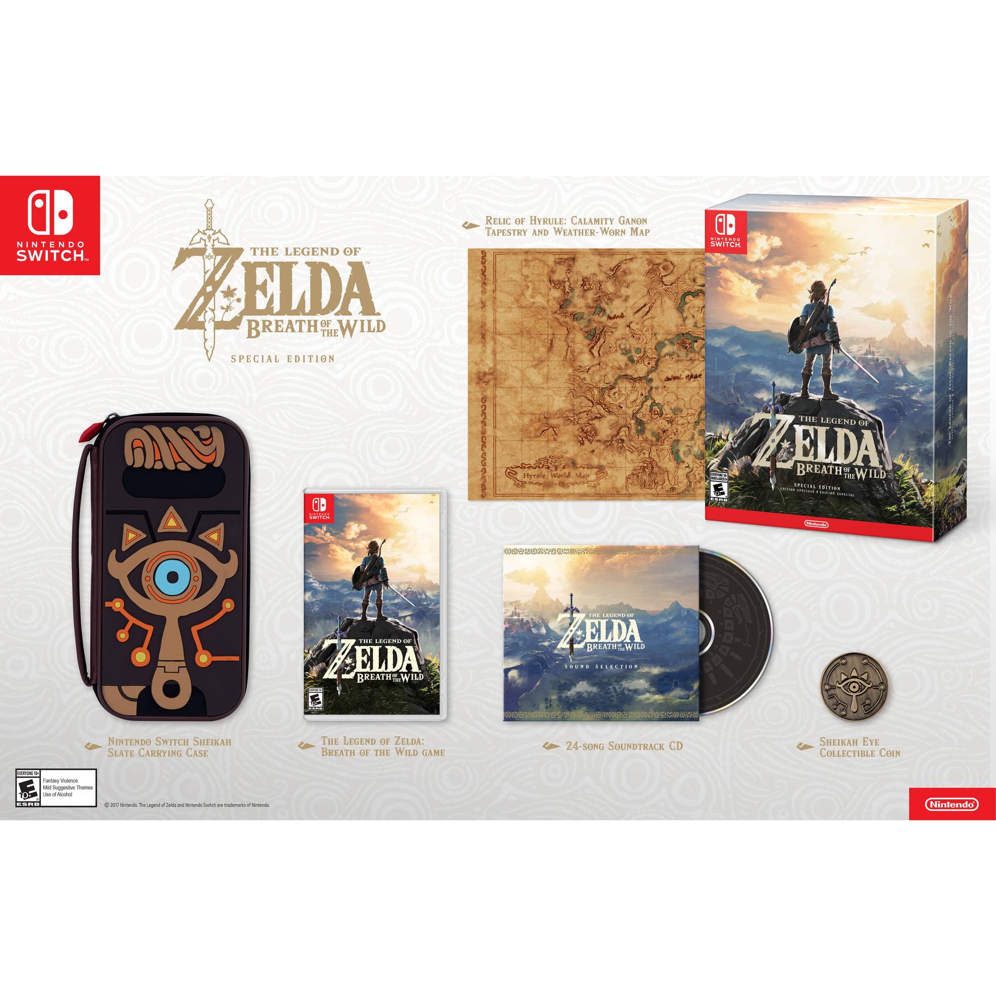 The Legend Of Zelda Breath Wild Special Edition Nintendo Switch 045496590369