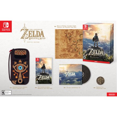 The Legend of Zelda: Breath of the Wild Special Edition, Nintendo, Nintendo Switch,