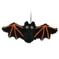 Way To Celebrate Halloween Tinsel Hanging Decor, Bat