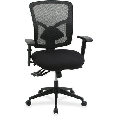 Lorell, LLR99849, Management Chair, 1 Each, Black