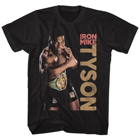 Iron Mike Tyson Heavyweight Belt Champion Fighter American Classics T Shirt