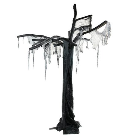 Northlight Seasonal Spooky Ghost Tree Standing Halloween Decoration - Spooky Tree Halloween Decor