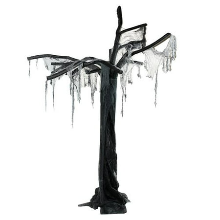 Northlight Seasonal Spooky Ghost Tree Standing Halloween - Spooky Halloween Tree