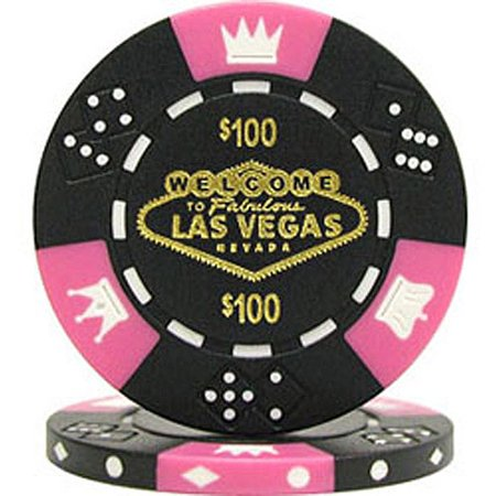 11.5-Gram Fabulous Las Vegas Tri-Color Poker Chips Custom Poker Chips Las Vegas