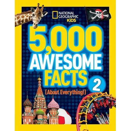 5,000 Awesome Facts (about Everything!) 2 (Hardcover) (Top 5 Facts About Halloween)