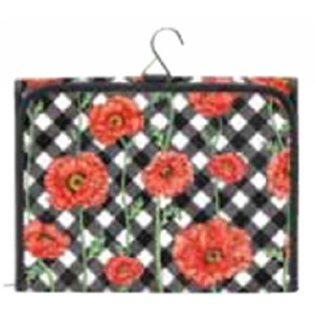 Joann Marrie Designs Hcbpc Hanging Cosmetic Bag   Poppy Chic
