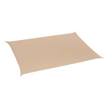 Gale Pacific 480943 California Sun Shade Rectangle 10 X 8 Ft   44  Desert Sand