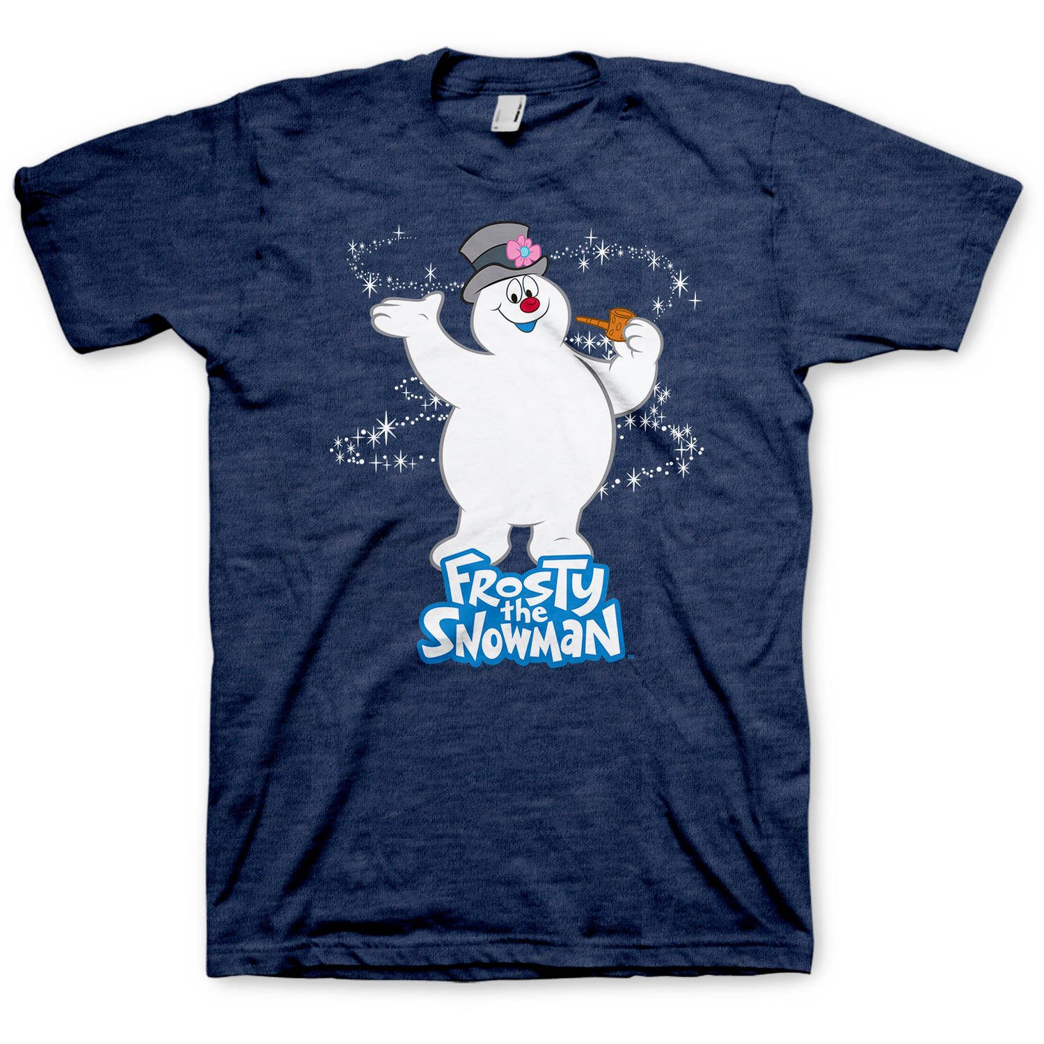 Frosty the Snowman Big Men's Graphic Tee, 2XL