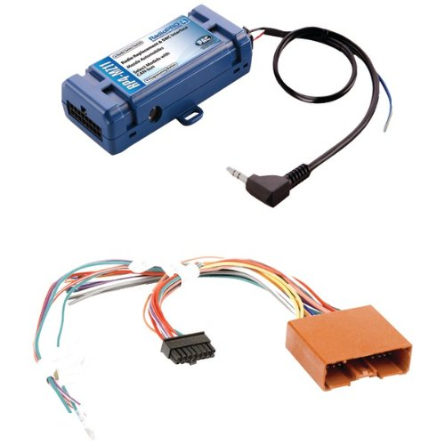 PAC RP4-MZ11 All-in-One Radio Replacement and Steering Wheel Control Interface (for select Mazda vehicles)