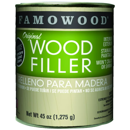 FamoWood Original Wood Filler - Pint, Walnut