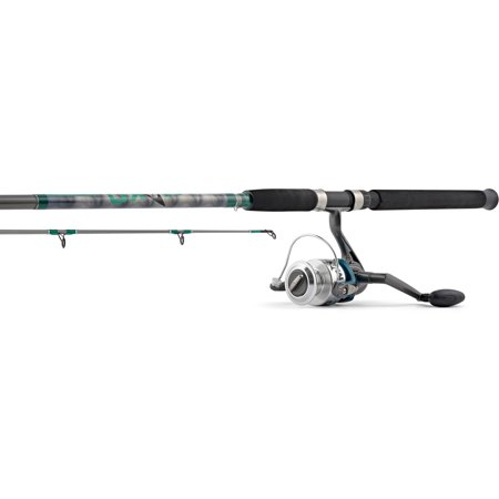 Hurricane Mako Isurus 8' 2-Piece Rod and Spinning Reel 12-30 Size 55