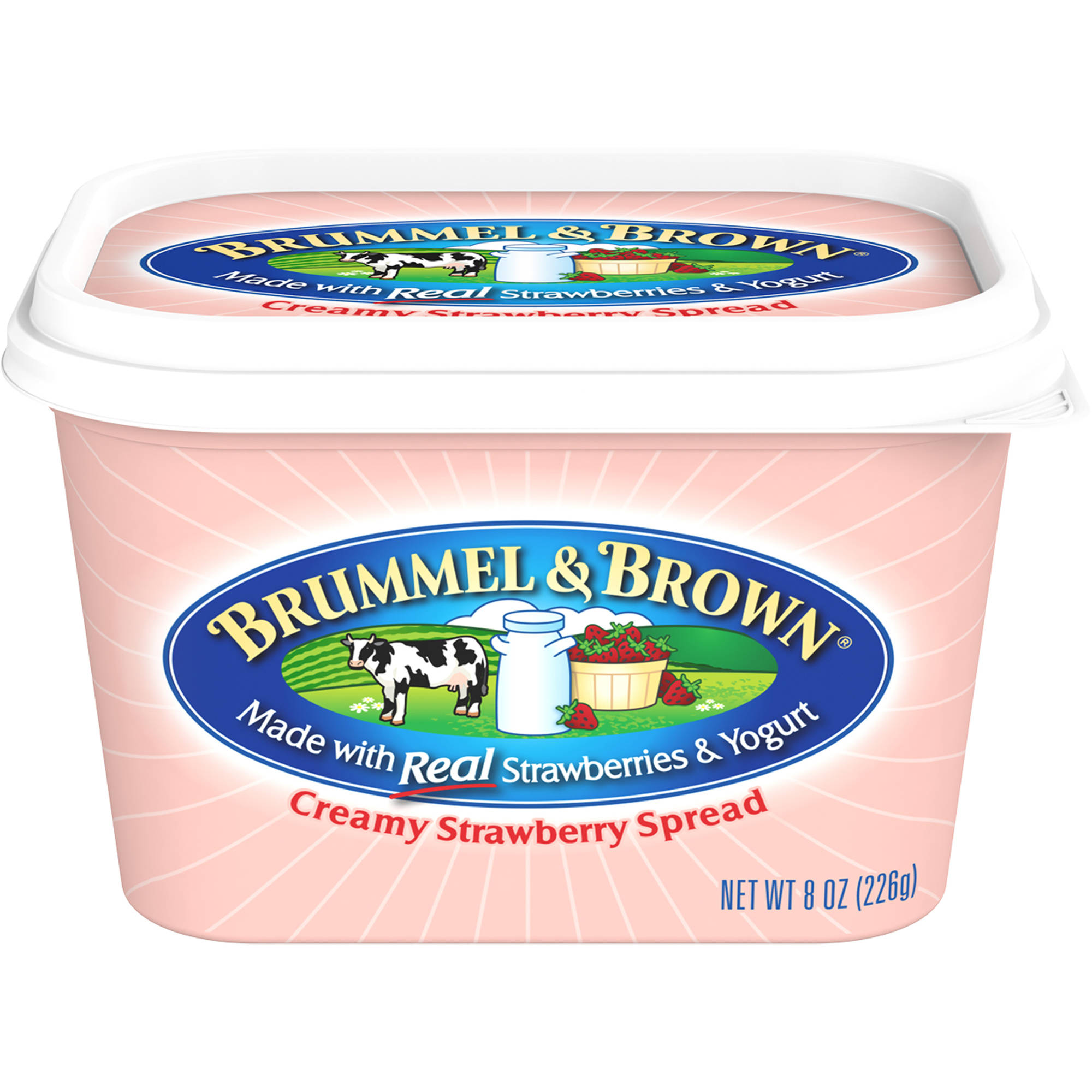 Brummel & Brown Strawberry Buttery Spread with Real Strawberries and Yogurt, 8 oz