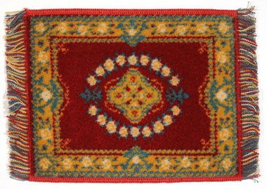 Dollhouse Karastan Rug Wine 6 X 8 by