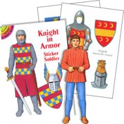 Knight Sticker Book (each) - Party Supplies