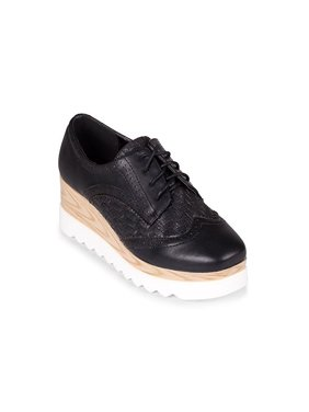 bf230a4ad2f Product Image Wanted Gallaway Lace Up Platform Wedge Oxford