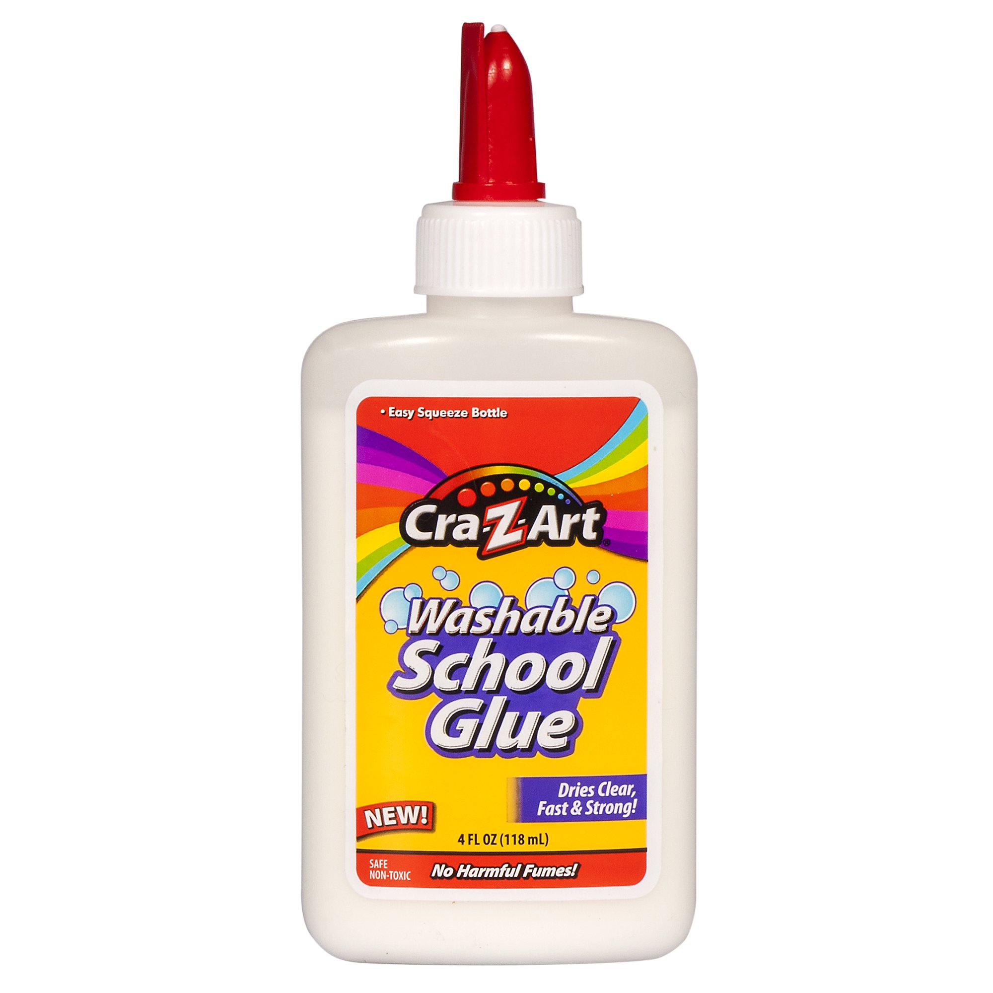 Cra-Z-Art Washable School Glue , 4 Oz White