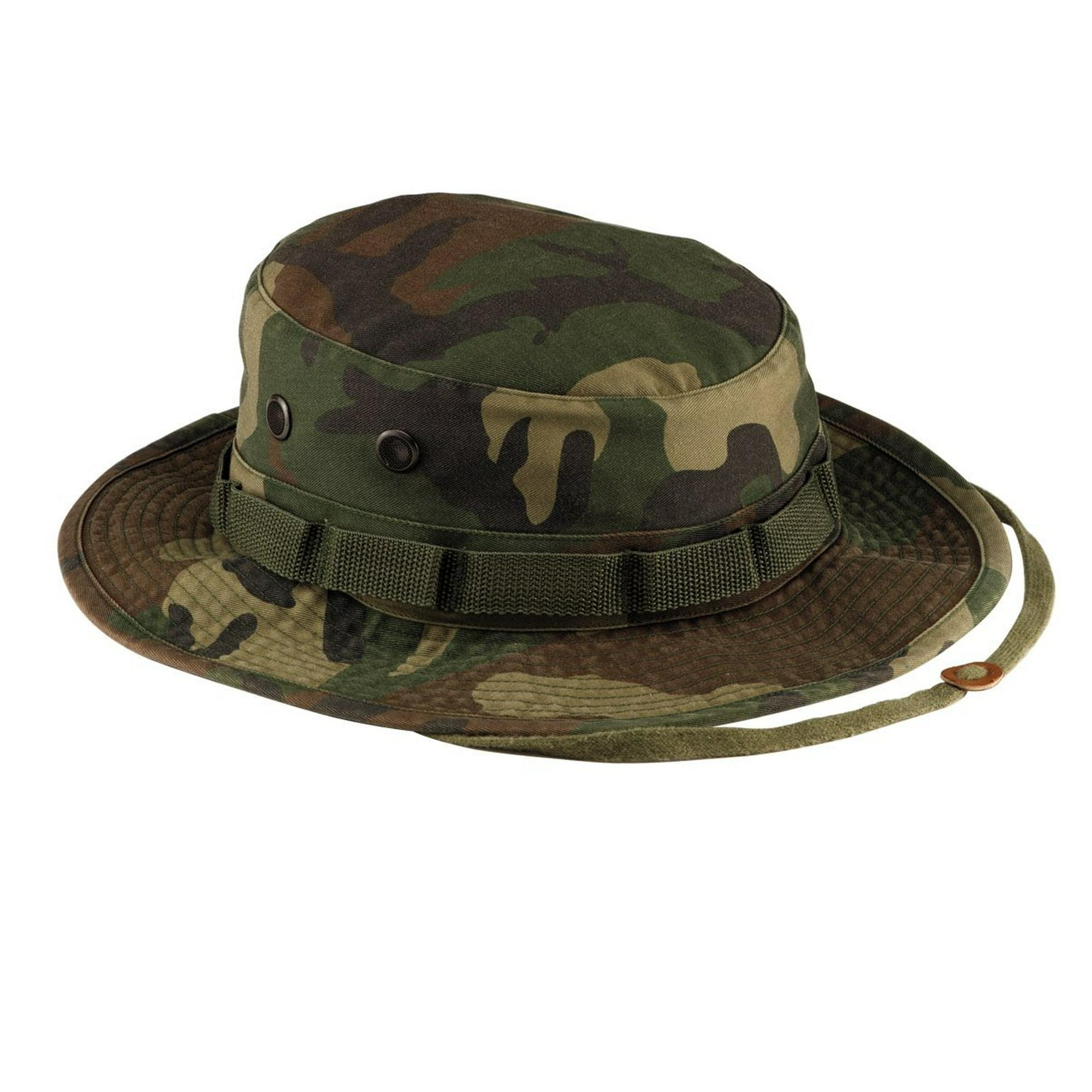 5591bb9599210 Rothco Vintage Boonie Hat - Woodland Camo