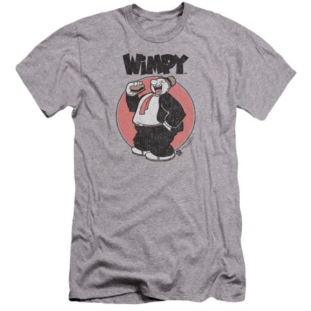 Popeye Wimpy Mens Premium Slim Fit Shirt