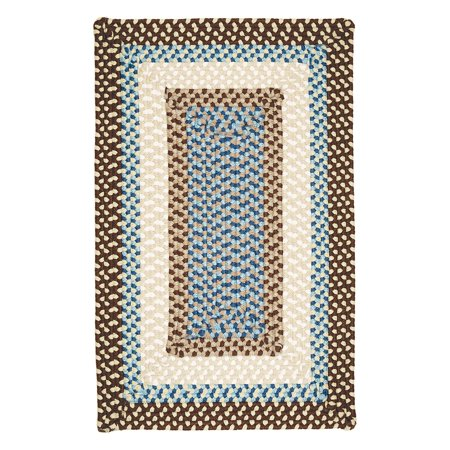 Colonial Mills Montego Indoor/Outdoor Area Rug - Bright Brown (Wood Stain Rub)