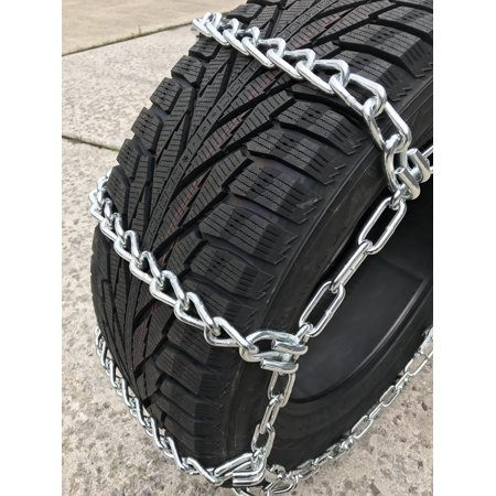 Compatible with Ford F-350 Super Duty King Ranch 4x4 Plow Pkg. 2018 LT275/65R18 Load Range E Tire Chains - image 3 of 4