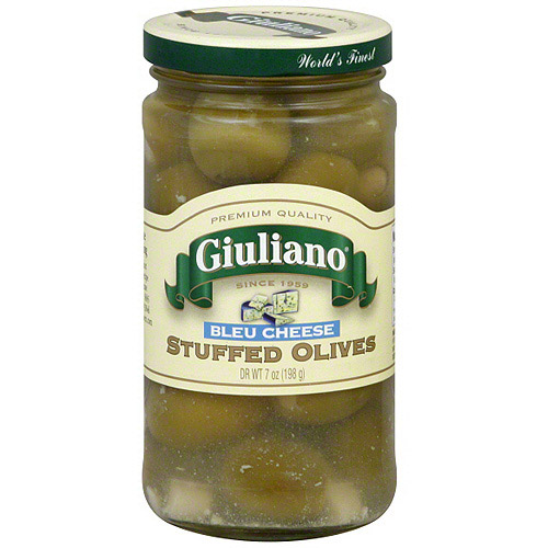 Giuliano Stuffed Bleu Cheese Olives, 7 oz (Pack of 6) by Generic