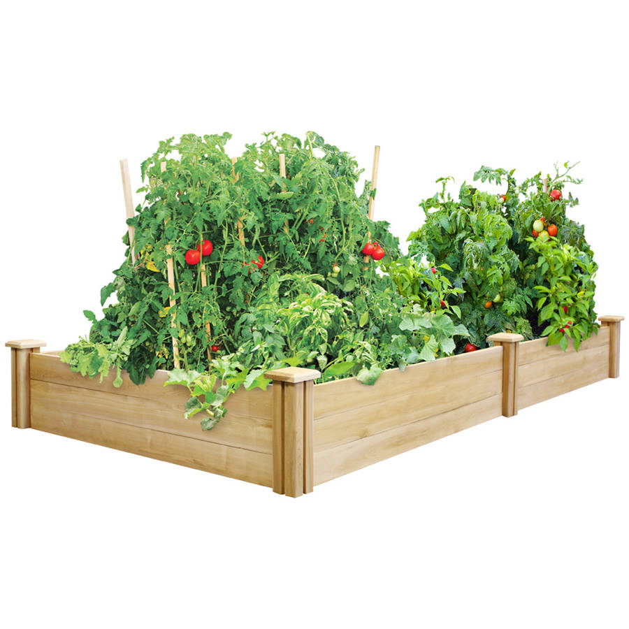 Greenes Fence 4' x 8' x 10.5 Cedar Raised Garden Bed