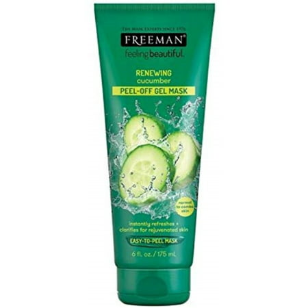 Freeman Feeling Beautiful Facial Peel-Off Mask Cucumber 6 oz