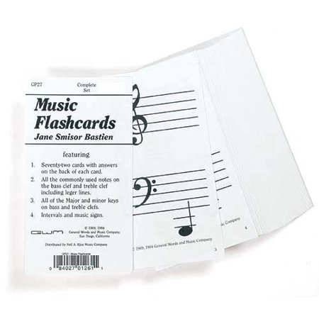 Flashcards: General Music by Jane Bastien (Generic Music)