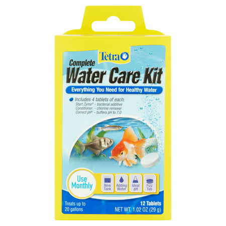 Tetra Easy Balance - Tetra Complete Water Care Kit with TetraCare, 12-Count