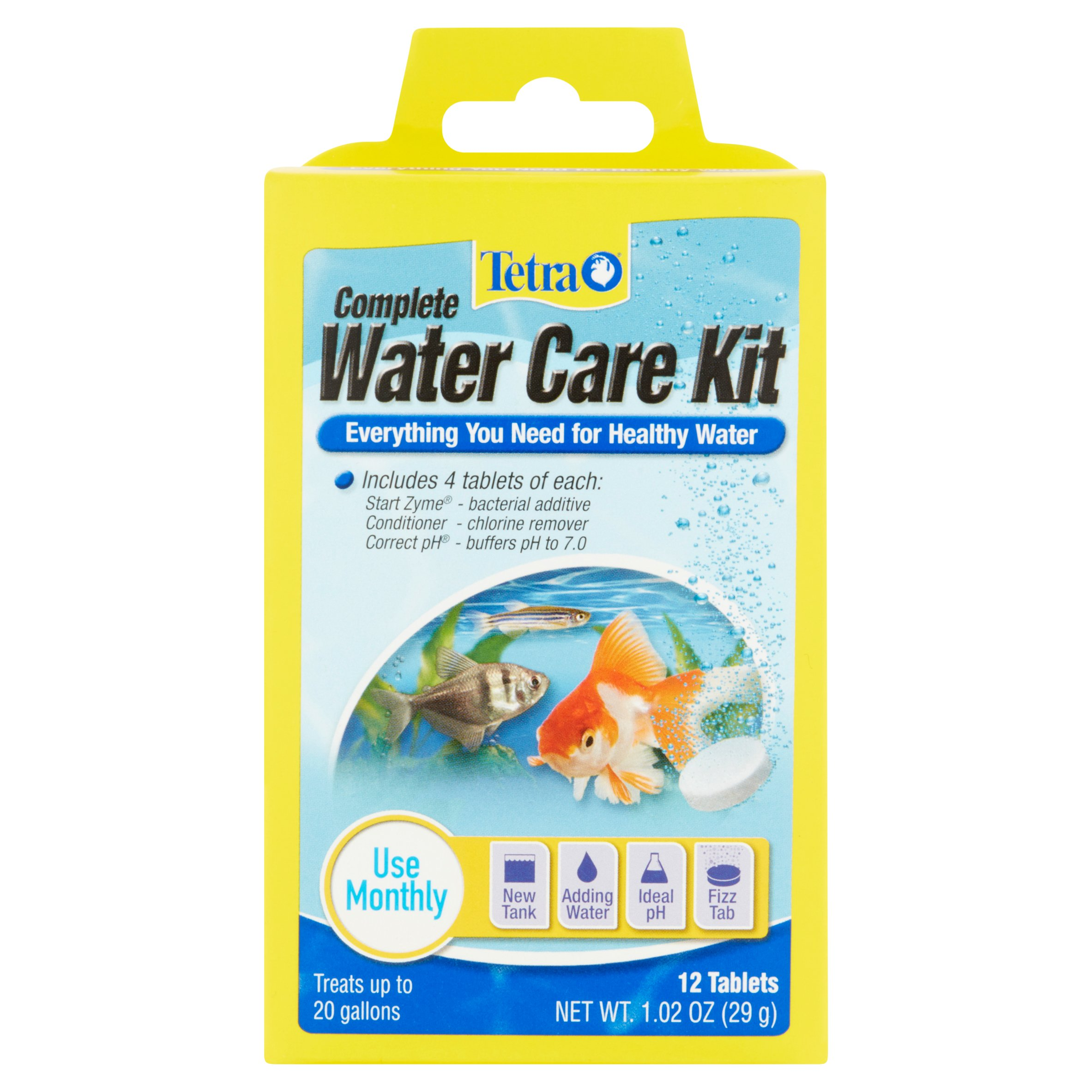 Tetra Complete Water Care Kit With TetraCare, 12 Count