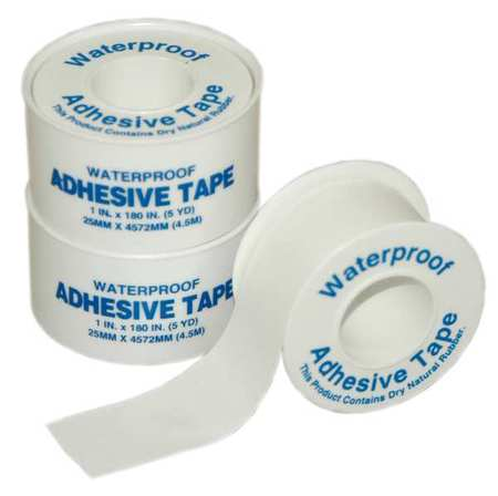 PAC-KIT 8-150G Tape,White,1 In. W,5 ft. L