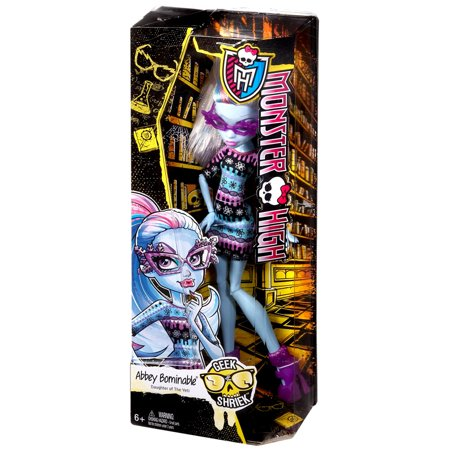 Monster High Geek Shriek Abbey Bominable 10.5