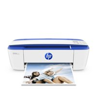 HP DeskJet 3755 All-in-One Printer in White and Dark Blue (Certified Refurbished)