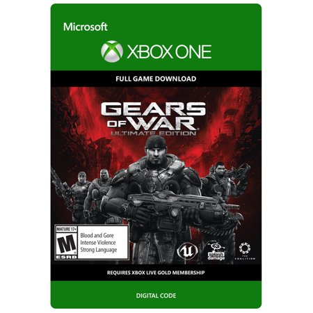 (Xbox One Gears of War Ultimate Edition - Digital Download Card Video Game)
